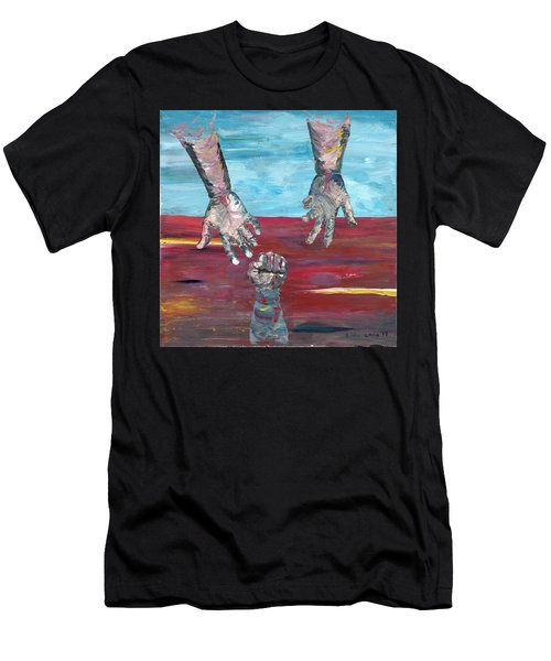 Our Sense Of Peace Is Only As Secure As Our Grasp Of Grace Men's T-Shirt (Athletic Fit)