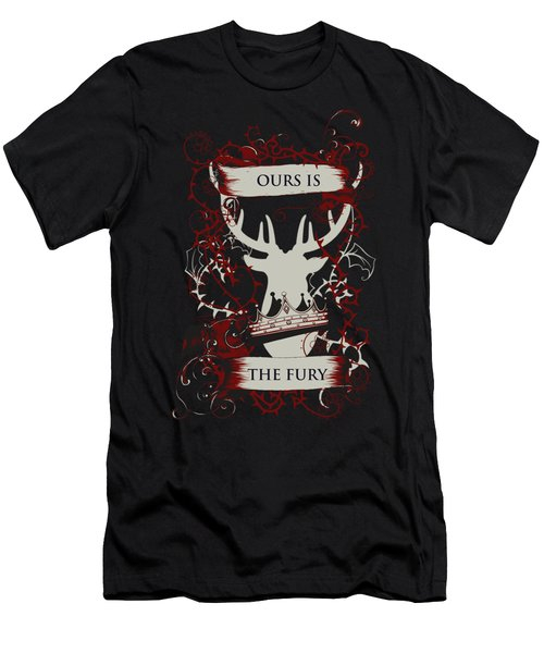 Ours Is The Fury Men's T-Shirt (Athletic Fit)