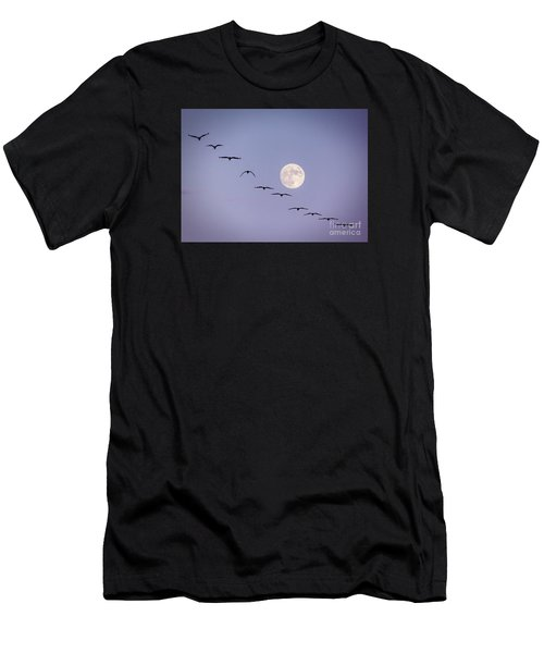 Out Of Sync Men's T-Shirt (Athletic Fit)