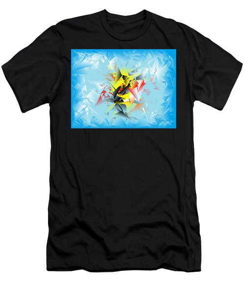 Out Of The Blue 5 Men's T-Shirt (Athletic Fit)