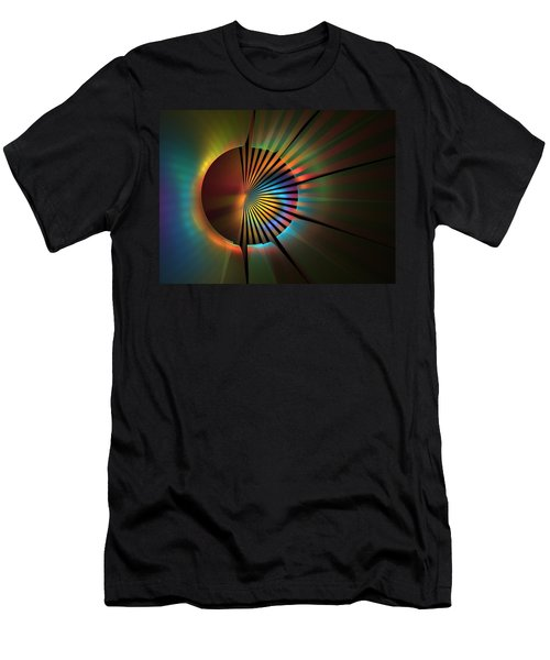 Out Of The Corner Of My Eye Men's T-Shirt (Slim Fit) by Lyle Hatch