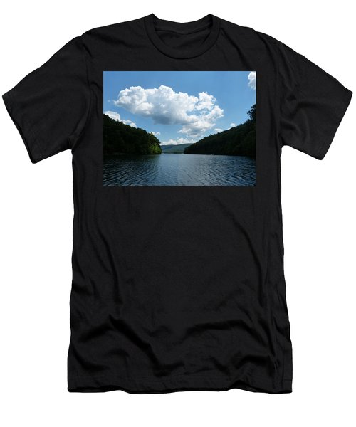 Men's T-Shirt (Slim Fit) featuring the photograph Out Of The Cove by Donald C Morgan