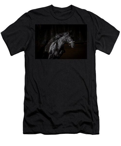 Out Of The Darkness Men's T-Shirt (Slim Fit) by Wes and Dotty Weber