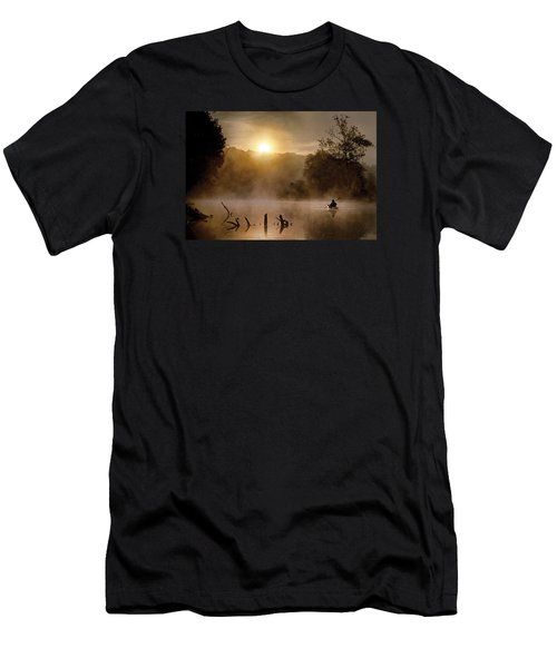 Out Of The Gloom Men's T-Shirt (Slim Fit) by Robert Charity