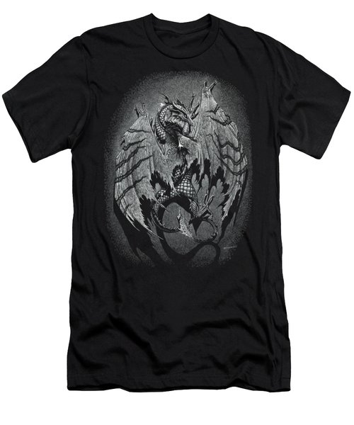 Out Of The Shadows T-shirt Men's T-Shirt (Slim Fit) by Stanley Morrison