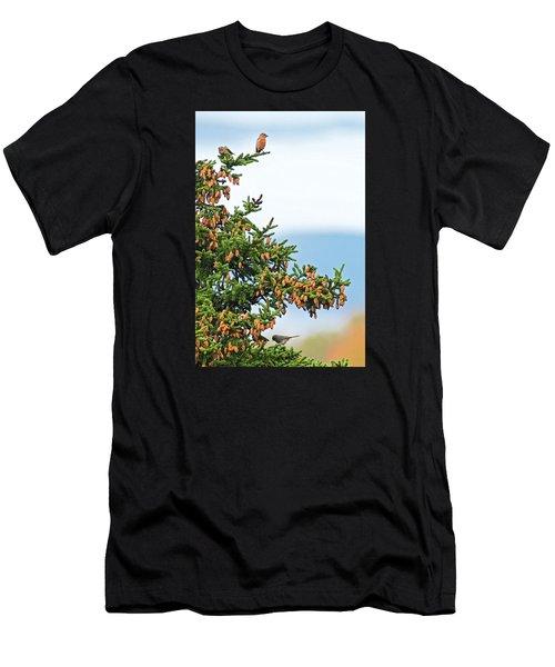 Out On A Limb # 2 Men's T-Shirt (Slim Fit) by Matt Plyler