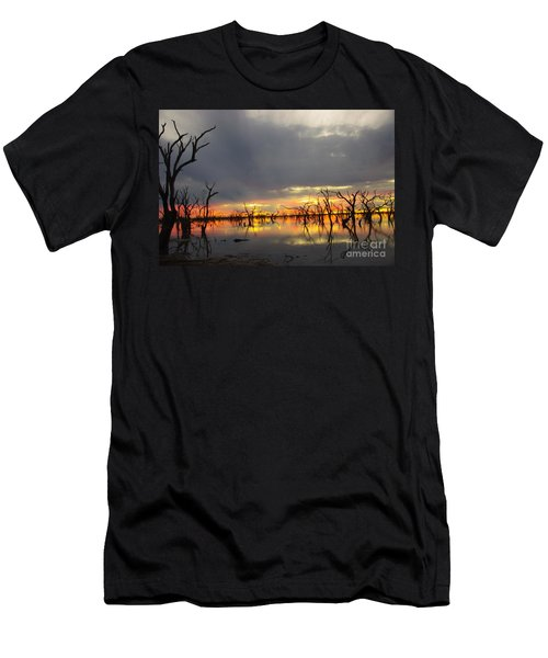 Outback Sunset Men's T-Shirt (Athletic Fit)