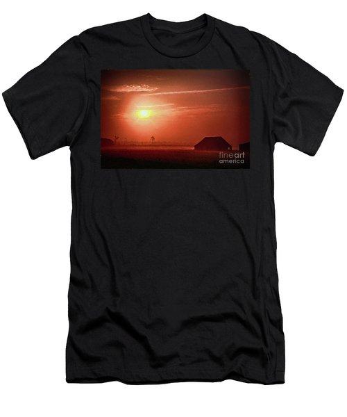 Outer Banks Memories 3 Ap Men's T-Shirt (Slim Fit) by Dan Carmichael