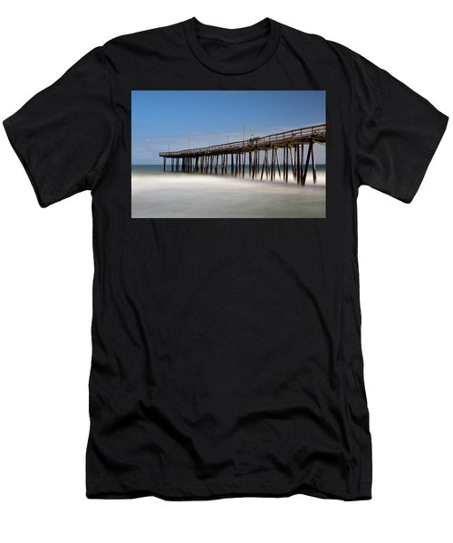 Outer Banks Pier Men's T-Shirt (Athletic Fit)