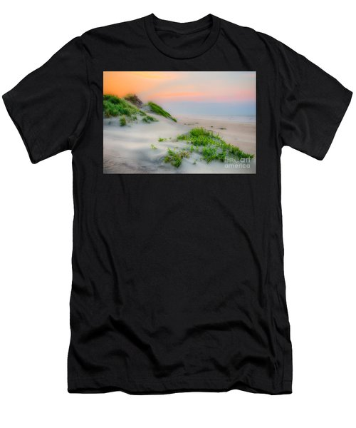 Outer Banks Soft Dune Sunrise Men's T-Shirt (Athletic Fit)