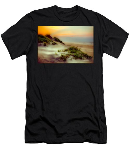 Outer Banks Soft Dune Sunrise Fx1 Men's T-Shirt (Athletic Fit)
