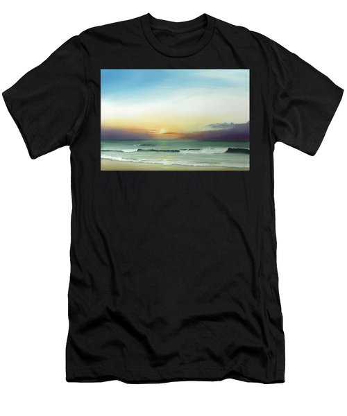 East Coast Sunrise Men's T-Shirt (Athletic Fit)