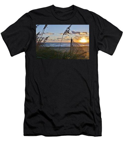 Outer Banks Sunrise Men's T-Shirt (Athletic Fit)