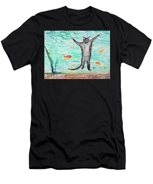 Outside The Fish Tank Men's T-Shirt (Athletic Fit)