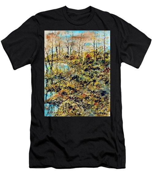 Outside Trodden Paths Men's T-Shirt (Athletic Fit)