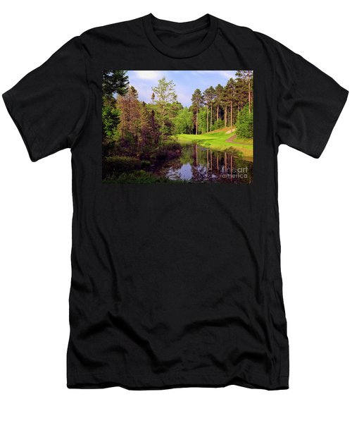 Over The Pond Men's T-Shirt (Athletic Fit)