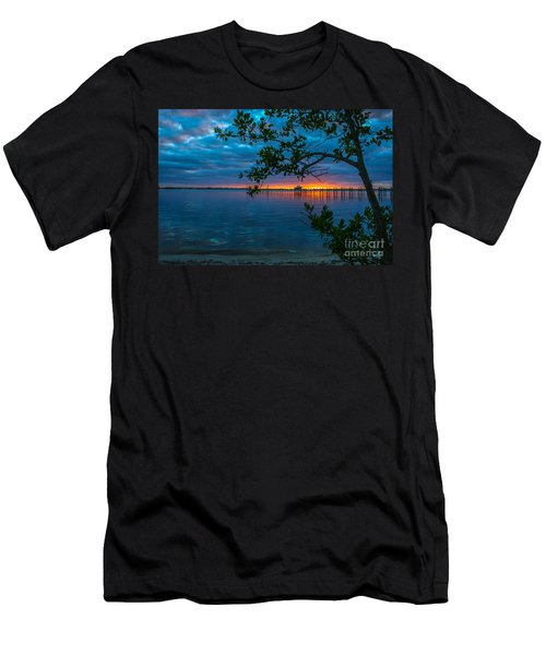 Overcast Sunrise Men's T-Shirt (Slim Fit) by Tom Claud
