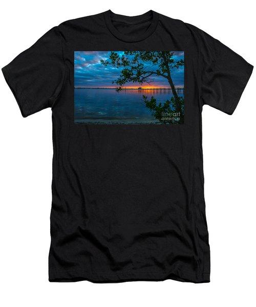 Overcast Sunrise Men's T-Shirt (Athletic Fit)