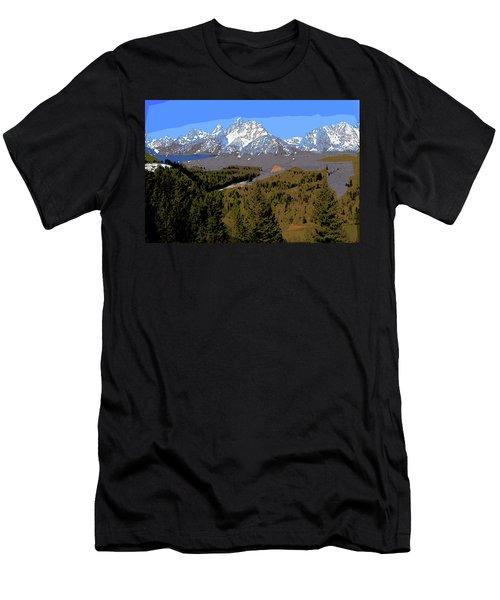 Overlook Men's T-Shirt (Athletic Fit)