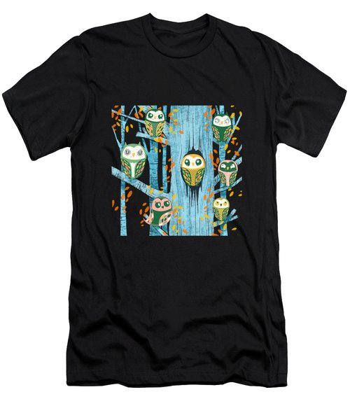 Overnight Owl Conference Men's T-Shirt (Athletic Fit)