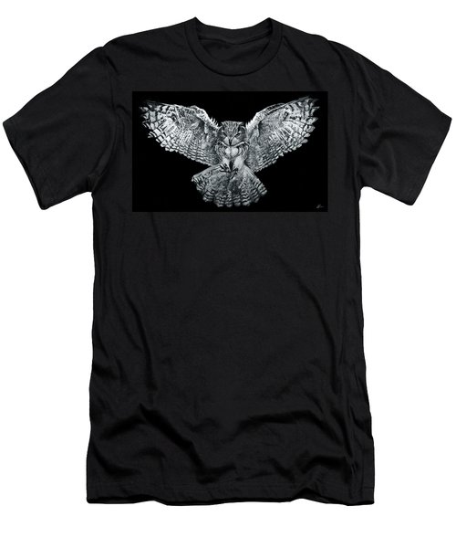 Owl 1 Men's T-Shirt (Athletic Fit)