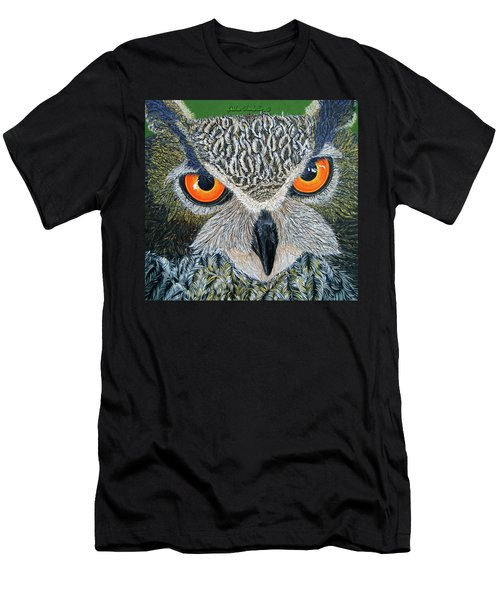Owl Capone Men's T-Shirt (Athletic Fit)