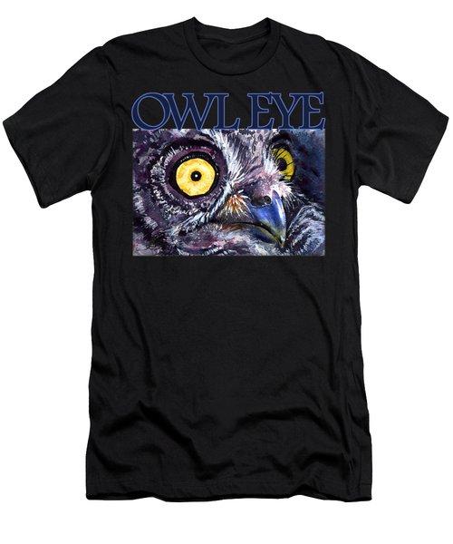 Owl Eye 21 Shirt Men's T-Shirt (Athletic Fit)