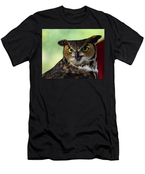 Owl Tongue Men's T-Shirt (Athletic Fit)