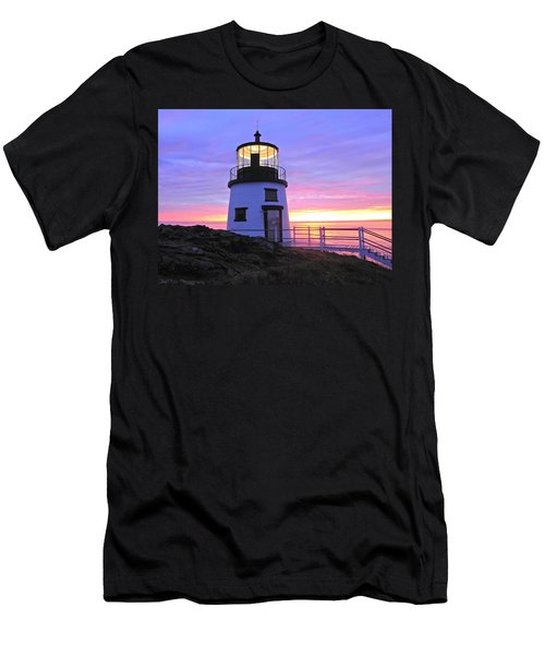 Owls Head Light Men's T-Shirt (Athletic Fit)