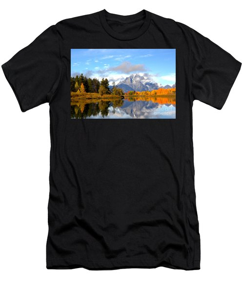Mt Moran At Oxbow Bend Men's T-Shirt (Athletic Fit)
