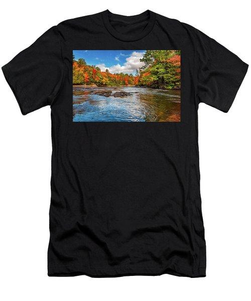 Oxtongue River 4  Men's T-Shirt (Athletic Fit)