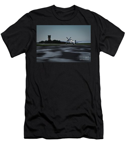 P-51  Men's T-Shirt (Slim Fit) by Douglas Stucky