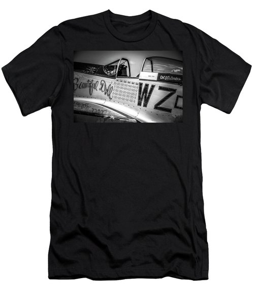 P-51 Mustang - Series 1 Men's T-Shirt (Athletic Fit)