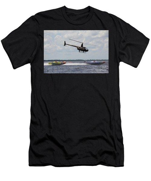P1 Powerboats Men's T-Shirt (Athletic Fit)