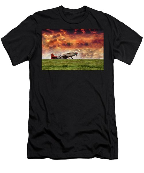P51 Warbird Men's T-Shirt (Athletic Fit)