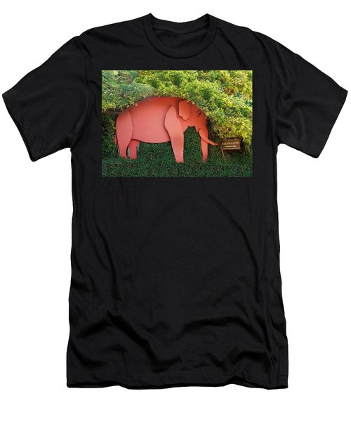 Pachyderm Sign Men's T-Shirt (Athletic Fit)