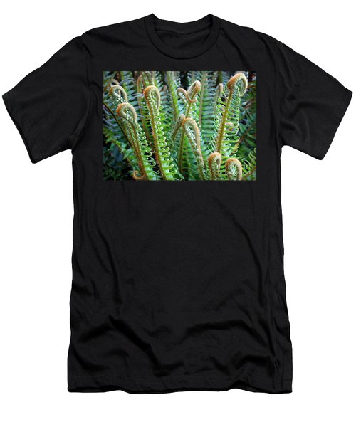 Pacific Ferns Men's T-Shirt (Athletic Fit)