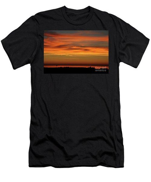 Pacific Ocean Sunset Men's T-Shirt (Athletic Fit)