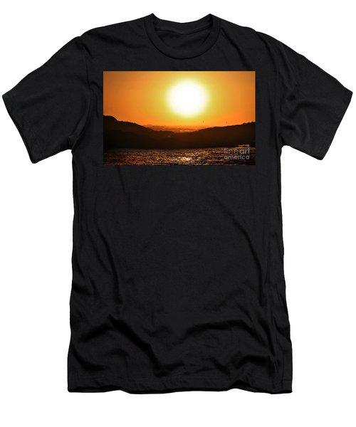 Pacific Sunset Men's T-Shirt (Athletic Fit)