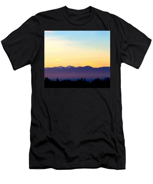 Pacific Twilight Men's T-Shirt (Athletic Fit)
