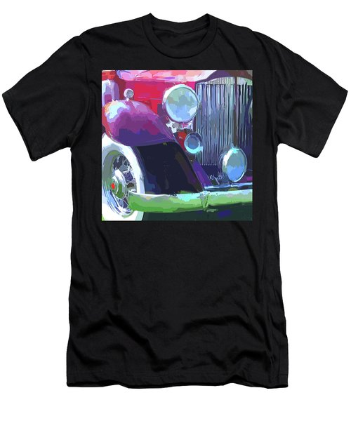 Packard Close Up Pop Men's T-Shirt (Athletic Fit)