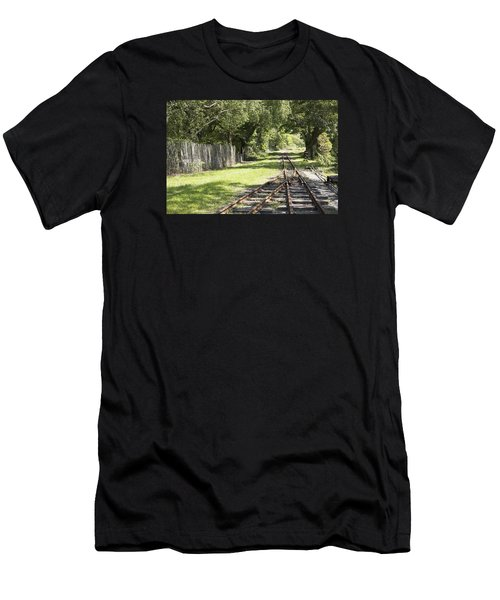Padarn Lake Railway Men's T-Shirt (Athletic Fit)