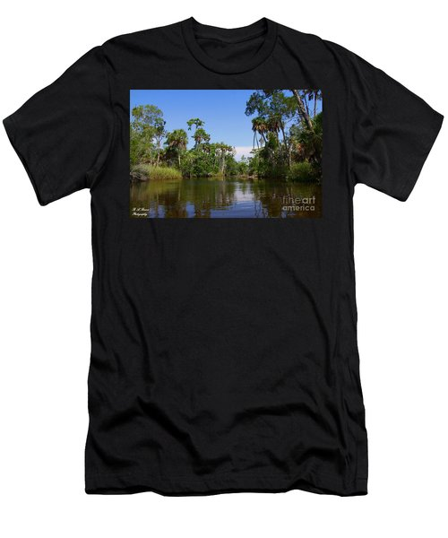 Paddling Otter Creek Men's T-Shirt (Athletic Fit)