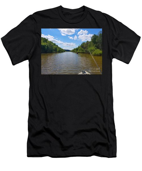Paddling Up Crooked Creek Men's T-Shirt (Athletic Fit)