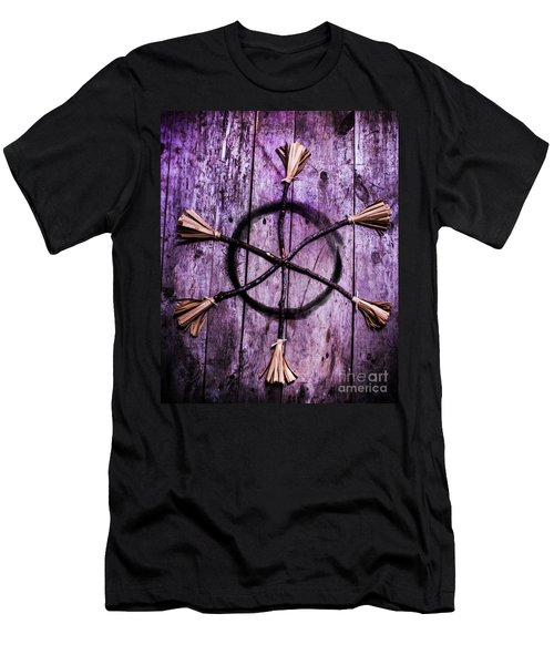Pagan Or Witchcraft Symbol For A Gathering Men's T-Shirt (Athletic Fit)