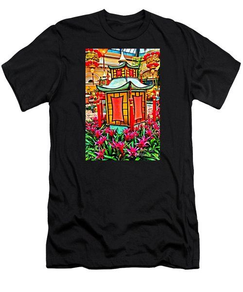 Men's T-Shirt (Athletic Fit) featuring the photograph Pagoda by Beauty For God