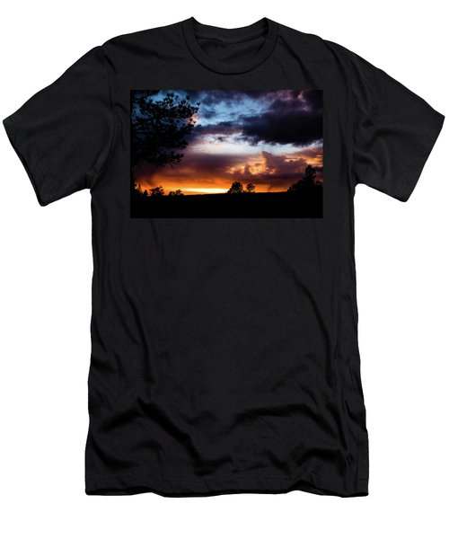 Pagosa Sunset 11-20-2014 Men's T-Shirt (Athletic Fit)