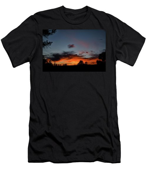 Pagosa Sunset 11-30-2014 Men's T-Shirt (Athletic Fit)