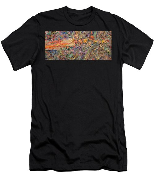 Paint Number 34 Men's T-Shirt (Athletic Fit)