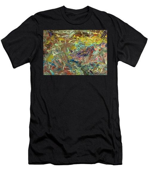 Paint Number46 Men's T-Shirt (Athletic Fit)